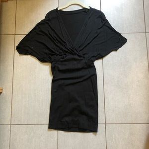 Babaton XS black dress Aritzia